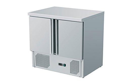 zorro kuehltisch zs901 2 tueren gastro saladette mit arbeitsflaeche r600a digitales thermostat - Zorro - Kühltisch ZS901 - 2 Türen - Gastro Saladette mit Arbeitsfläche - R600A - Digitales Thermostat